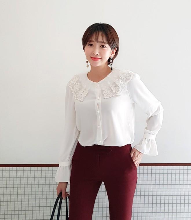 3 cách điệu của áo sơmi và áo blouse đang rất được lòng các nàng điệu đà vào thời điểm này - Ảnh 8.
