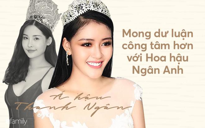 Á hậu Thanh Ngân lên tiếng bênh vực Hoa hậu Đại dương: Mong dư luận công tâm với Ngân Anh - Ảnh 1.