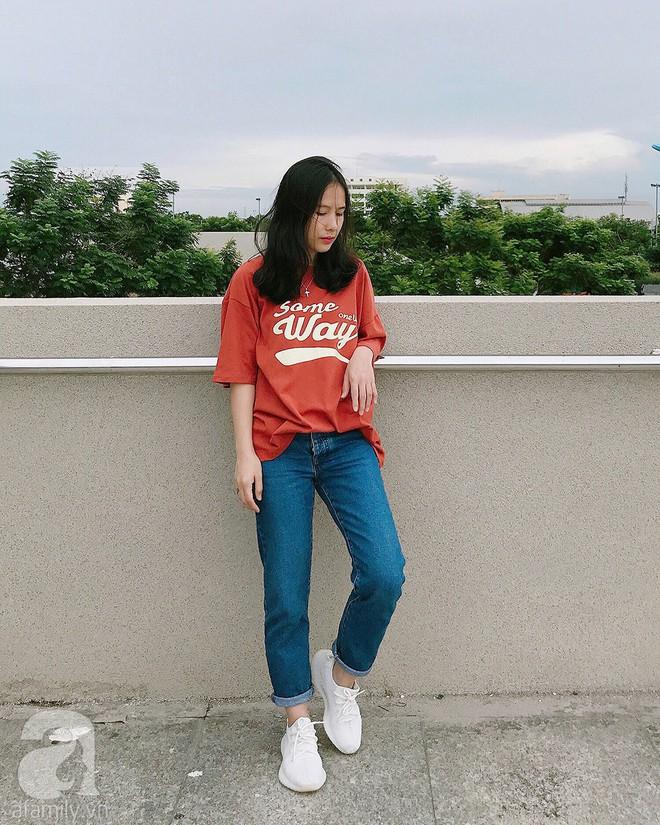 Trần Ngọc Hạnh Nhân: cô nàng 32 tuổi mê sneakers, đang mang bầu tháng cuối nhưng vẫn mặc chất không kém nhiều 9x 10x - Ảnh 11.