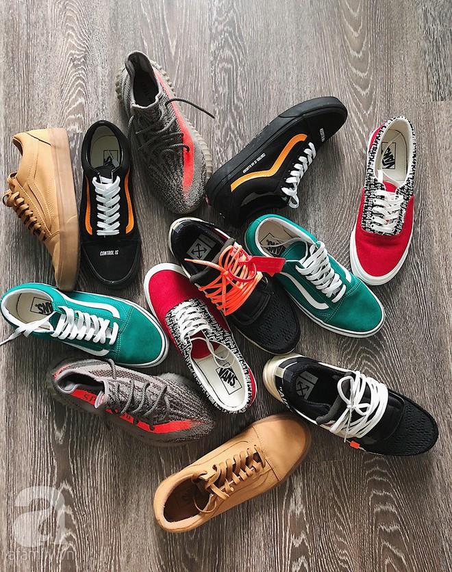 Trần Ngọc Hạnh Nhân: 32 tuổi vẫn mê sneakers, vừa xinh vừa mặc chất không kém nhiều 9x 10x - Ảnh 6.