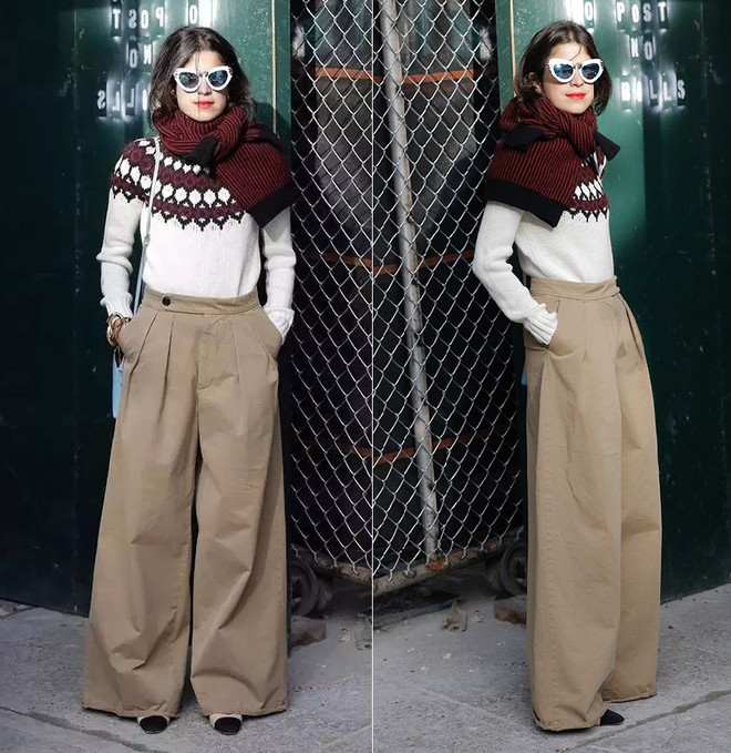 Vừa ấm áp lại vừa trendy với trào lưu biến áo len thành khăn quàng - Ảnh 5.