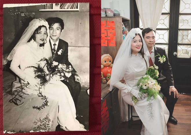 Đôi du học sinh Mỹ dành 6 tháng tái hiện đám cưới năm 1978 và 1992 của bố mẹ - Ảnh 3.