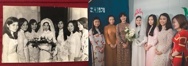 Đôi du học sinh Mỹ dành 6 tháng tái hiện đám cưới năm 1978 và 1992 của bố mẹ - Ảnh 5.