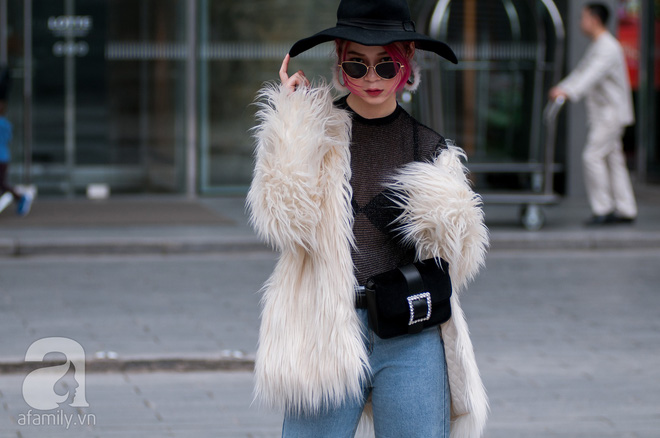 Tuần đầu tiên của năm mới, các quý cô thi nhau dạo phố với style chất khỏi bàn - Ảnh 22.