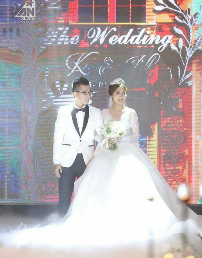 Huỳnh Mi - em gái Trấn Thành vừa lên xe hoa, anh trai trực tiếp làm MC trong đám cưới hoành tráng - Ảnh 3.