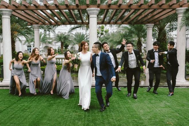 Huỳnh Mi - em gái Trấn Thành vừa lên xe hoa, anh trai trực tiếp làm MC trong đám cưới hoành tráng - Ảnh 7.