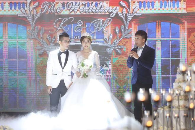 Huỳnh Mi - em gái Trấn Thành vừa lên xe hoa, anh trai trực tiếp làm MC trong đám cưới hoành tráng - Ảnh 4.