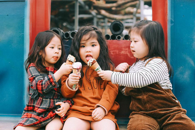 Bộ ba bạn thân Mầm - Mũm - Mon xuất hiện siêu yêu trong bộ ảnh chụp trên cánh đồng hoa cải - Ảnh 21.