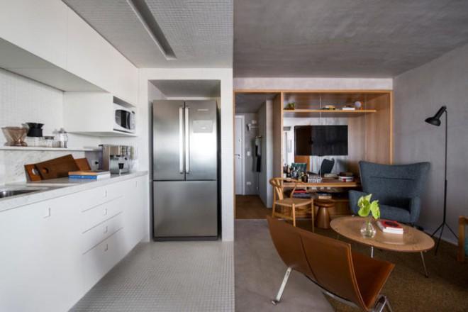 Chiêm ngưỡng căn hộ 80m² của chàng giám đốc trẻ vừa hiện đại lại mang tính giải trí cao - Ảnh 4.