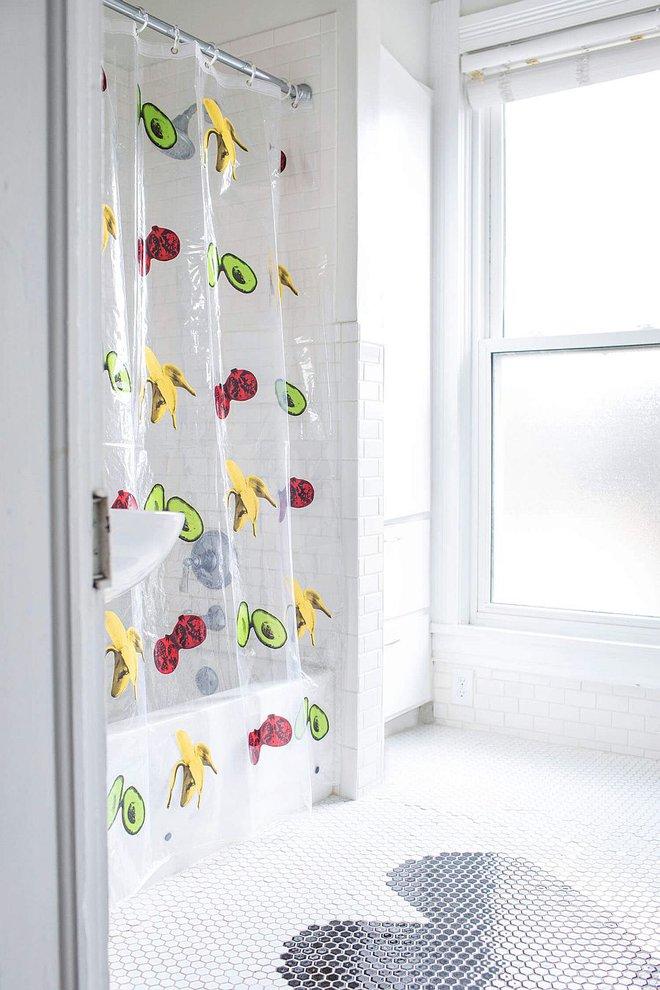 6 ý tưởng tự tay thiết kế rèm nhà tắm đáng để học tập - Ảnh 9.