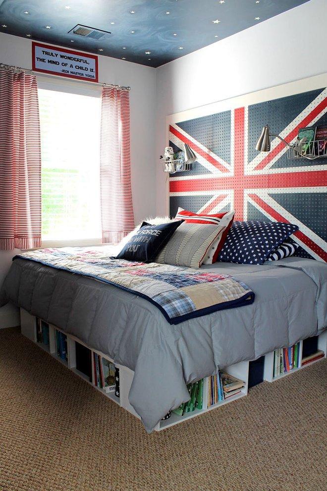 Ý tưởng trang trí và thiết kế lưu trữ cho phòng ngủ đón năm mới - Ảnh 1.