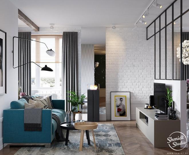 Căn hộ 3 phòng ngủ theo phong cách Scandinavian đẹp hoàn hảo như một bài thơ - Ảnh 1.