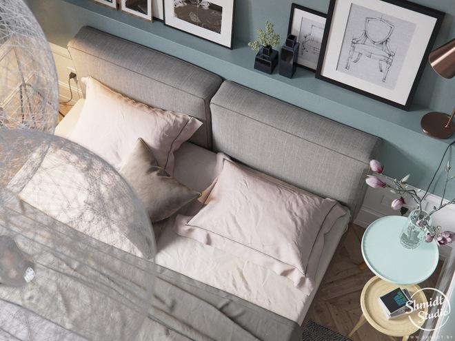 Căn hộ 3 phòng ngủ theo phong cách Scandinavian đẹp hoàn hảo như một bài thơ - Ảnh 22.