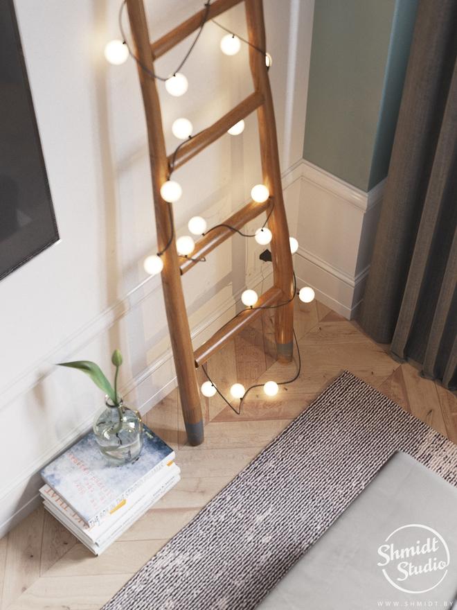 Căn hộ 3 phòng ngủ theo phong cách Scandinavian đẹp hoàn hảo như một bài thơ - Ảnh 23.