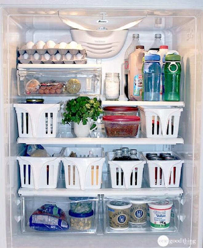 Mách bạn cách làm sạch và sắp xếp thực phẩm trong tủ lạnh ngày Tết - Ảnh 13.
