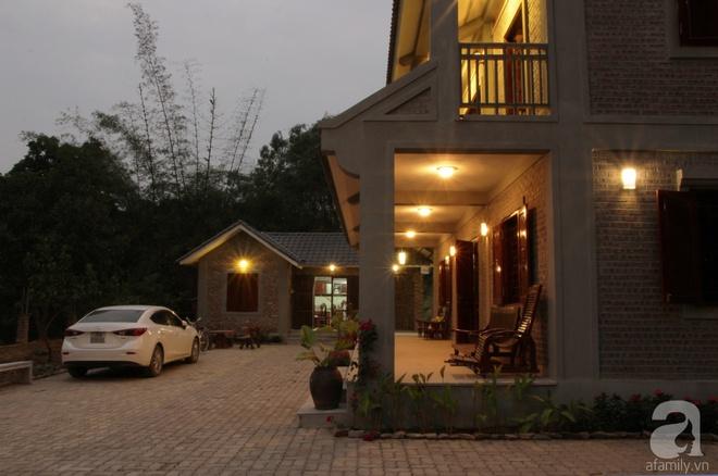Ngôi nhà vườn hoài cổ với mái nhuốm màu thời gian bình yên giữa núi đồi Bắc Ninh - Ảnh 2.