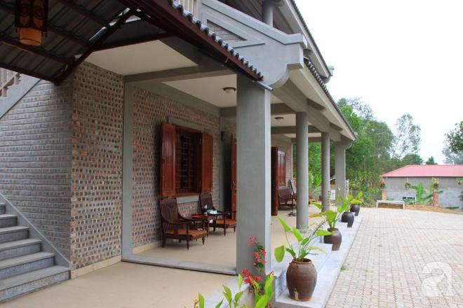 Ngôi nhà vườn hoài cổ với mái nhuốm màu thời gian bình yên giữa núi đồi Bắc Ninh - Ảnh 6.