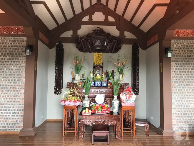 Ngôi nhà vườn hoài cổ với mái nhuốm màu thời gian bình yên giữa núi đồi Bắc Ninh - Ảnh 23.
