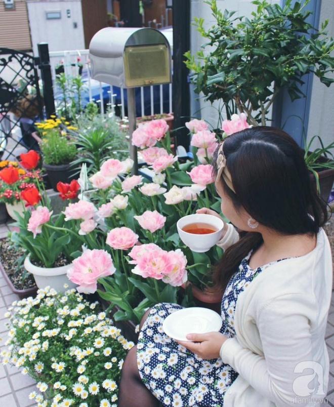 Nàng dâu Việt ở Nhật chỉ cách trồng tulip từ đất để hoa nở rực rỡ đón Tết - Ảnh 13.