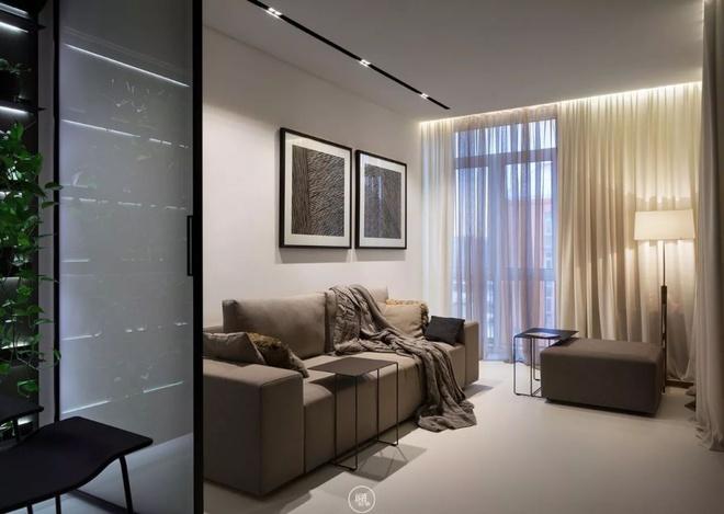 Căn hộ 44m² đẹp không giới hạn nhờ áp dụng cực hiệu quả phong cách tối giản - Ảnh 2.