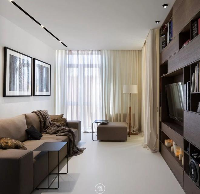 Căn hộ 44m² đẹp không giới hạn nhờ áp dụng cực hiệu quả phong cách tối giản - Ảnh 3.