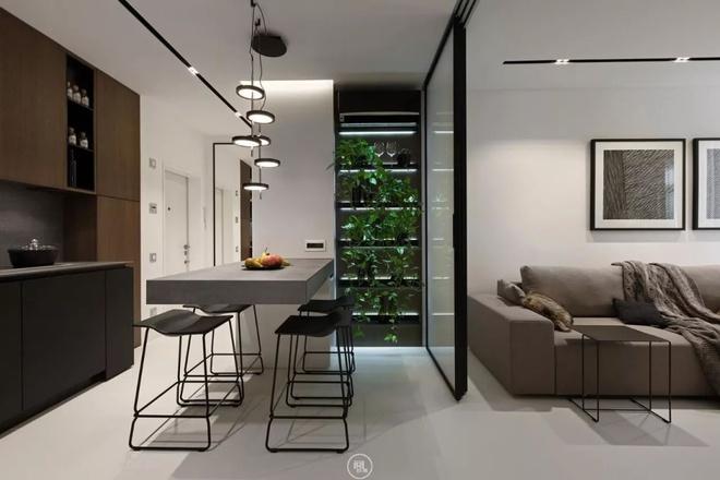 Căn hộ 44m² đẹp không giới hạn nhờ áp dụng cực hiệu quả phong cách tối giản - Ảnh 4.