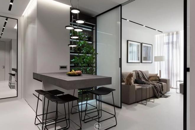 Căn hộ 44m² đẹp không giới hạn nhờ áp dụng cực hiệu quả phong cách tối giản - Ảnh 5.