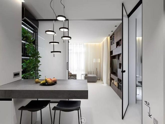 Căn hộ 44m² đẹp không giới hạn nhờ áp dụng cực hiệu quả phong cách tối giản - Ảnh 6.