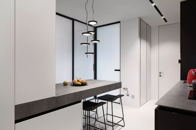 Căn hộ 44m² đẹp không giới hạn nhờ áp dụng cực hiệu quả phong cách tối giản - Ảnh 7.