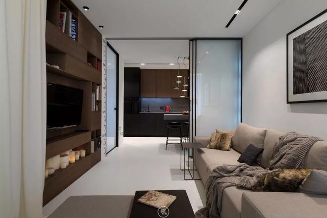 Căn hộ 44m² đẹp không giới hạn nhờ áp dụng cực hiệu quả phong cách tối giản - Ảnh 8.