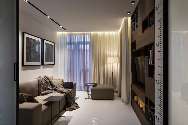 Căn hộ 44m² đẹp không giới hạn nhờ áp dụng cực hiệu quả phong cách tối giản - Ảnh 11.