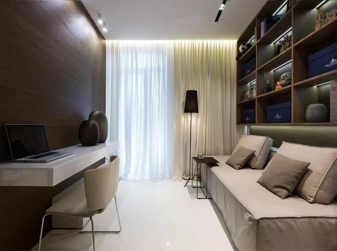 Căn hộ 44m² đẹp không giới hạn nhờ áp dụng cực hiệu quả phong cách tối giản - Ảnh 12.
