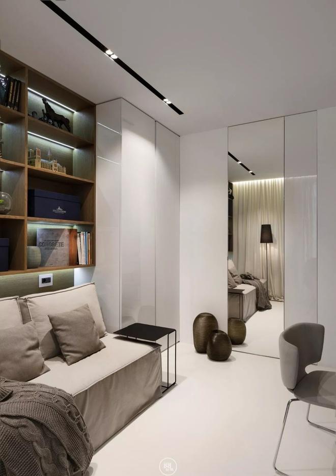 Căn hộ 44m² đẹp không giới hạn nhờ áp dụng cực hiệu quả phong cách tối giản - Ảnh 13.