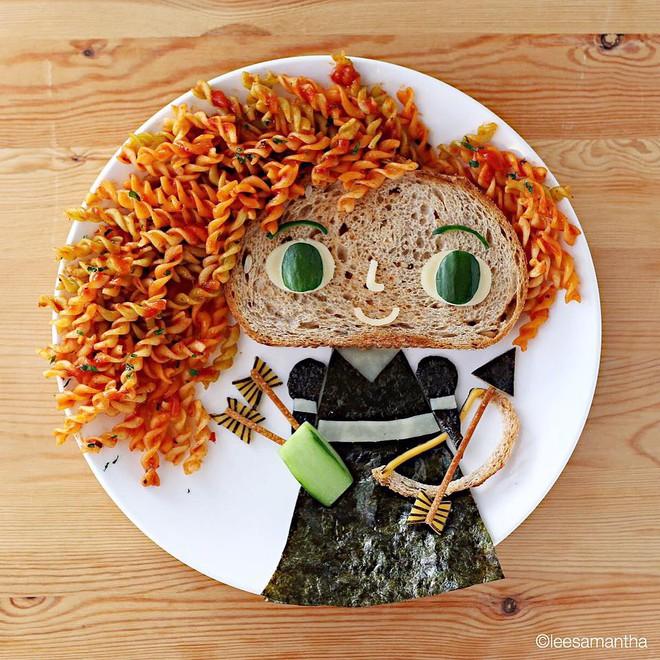 Để con hết kén ăn, bà mẹ khéo tay đã biến bữa ăn thành kiệt tác nghệ thuật - Ảnh 32.