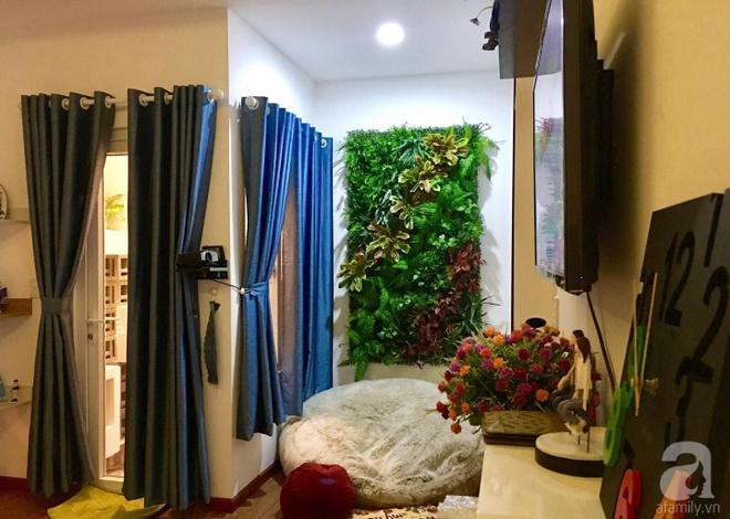 Bà mẹ hai con ở Sài Gòn chia sẻ cách tự tay làm bức tường xanh tươi đón Tết chỉ với 1 triệu đồng - Ảnh 2.