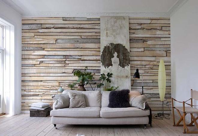 Chỉ cần khéo chọn giấy dán tường thôi cũng khiến không gian sống của bạn bừng sáng - Ảnh 1.