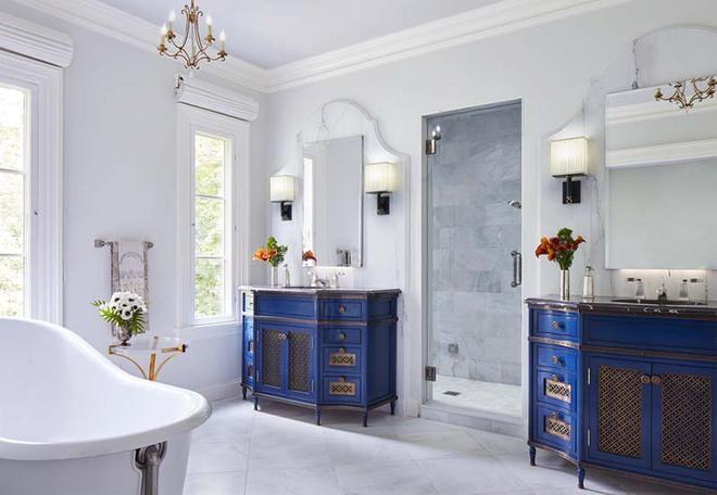 Những nhà tắm mang phong cách vùng Địa Trung Hải đầy nắng và gió - Ảnh 4.
