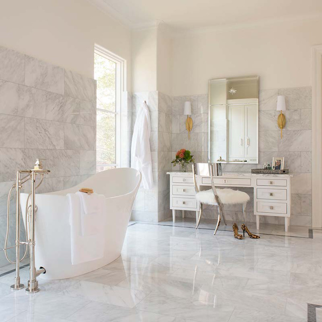 Những nhà tắm mang phong cách vùng Địa Trung Hải đầy nắng và gió - Ảnh 7.