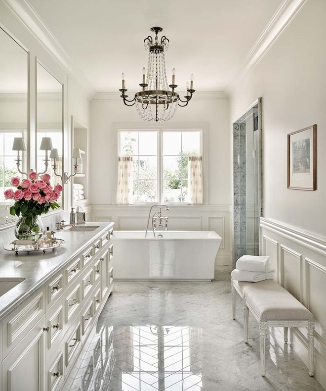 Những nhà tắm mang phong cách vùng Địa Trung Hải đầy nắng và gió - Ảnh 8.