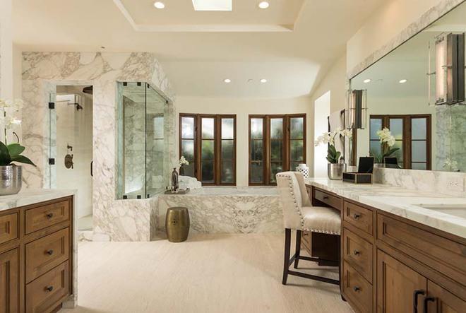 Những nhà tắm mang phong cách vùng Địa Trung Hải đầy nắng và gió - Ảnh 9.