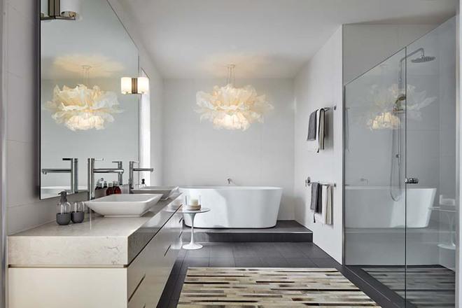 Những nhà tắm mang phong cách vùng Địa Trung Hải đầy nắng và gió - Ảnh 10.