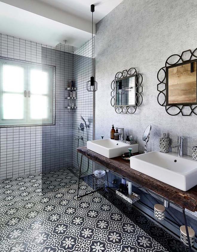 Những nhà tắm mang phong cách vùng Địa Trung Hải đầy nắng và gió - Ảnh 12.