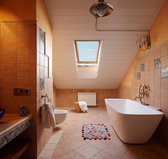 Những nhà tắm mang phong cách vùng Địa Trung Hải đầy nắng và gió - Ảnh 14.