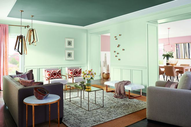 Năm 2018 sẽ gọi tên 3 xu hướng màu sắc sơn nhà mới và compo thứ 3 sẽ khiến bạn phải ngạc nhiên đấy - Ảnh 1.