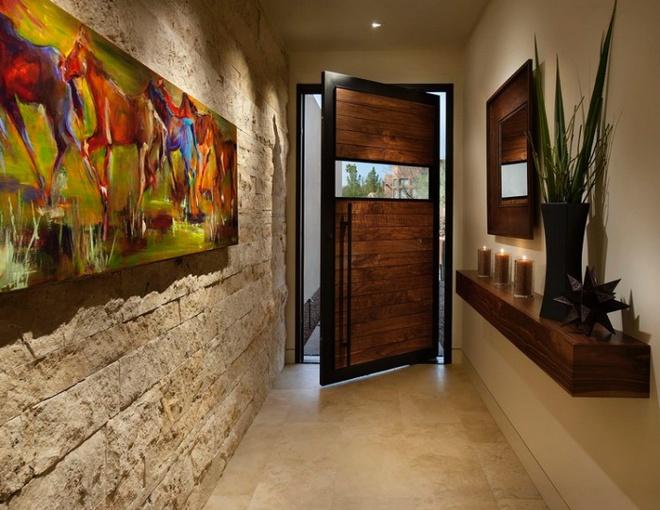Trang trí lối vào nhà đẹp bất ngờ đón Tết nhờ những ý tưởng DIY thú vị - Ảnh 10.