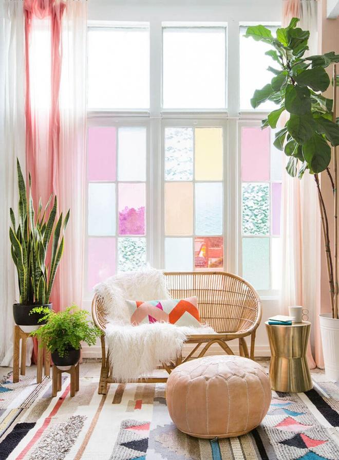 Trang trí cửa sổ đẹp lãng mạn đón năm mới tươi vui, hạnh phúc - Ảnh 8.