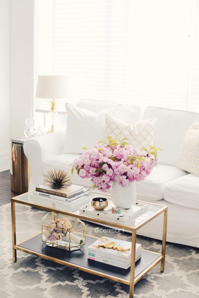 14 cách làm đẹp phòng khách với hoa hân hoan đón mùa Xuân đang về - Ảnh 4.