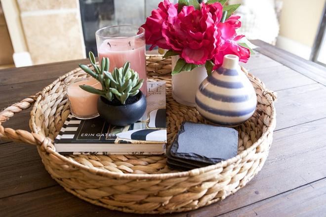 14 cách làm đẹp phòng khách với hoa hân hoan đón mùa Xuân đang về - Ảnh 13.