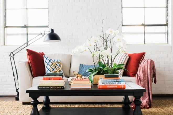 14 cách làm đẹp phòng khách với hoa hân hoan đón mùa Xuân đang về - Ảnh 14.