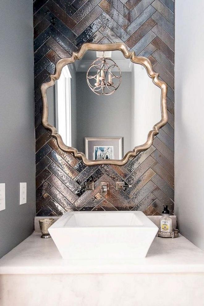 Cách thiết kế nhà tắm cực đẹp cho một năm mới vừa thoải mái lại hạnh phúc - Ảnh 1.